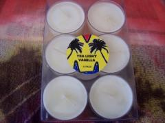Soy tea light candles 6 pack