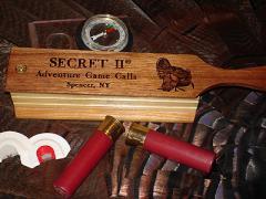 Secret II: Poplar & Black Walnut Box Call