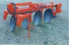 Hydraulic reversible plow, Arado