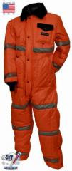 ExtremeGard High Visibility Insulated Clothing Coveralls