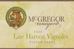2008 Late Harvest Vignoles Wine
