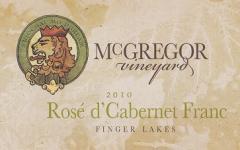 2010 Rose d' Cabernet Franc (Dry) Wine