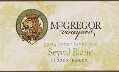 2009 Seyval Blanc Wine