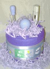 Mini Medicinal Diaper Cake