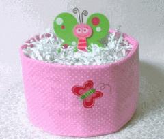 1-Tier Basic Diaper Cake