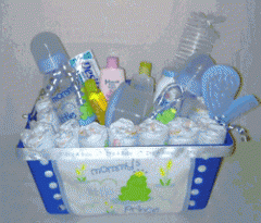 Mommy's Little Prince Gift Basket