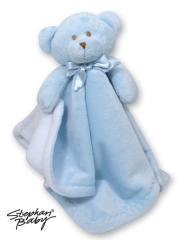 Blue Bear Blankie Toy