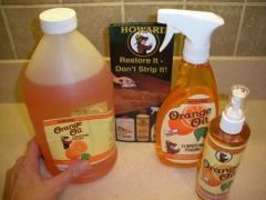 Howard Products Orange Oil Furniture Polish