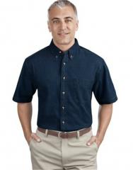 Short Sleeve Value Denim Shirt