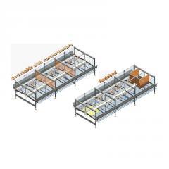 Equipamiento de jaulas para la avicultura