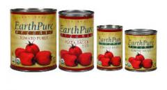 Earth Pure canned products