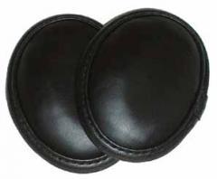 Black Faux Leather Ear Muffs