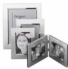Brushed Metal Picture Frame