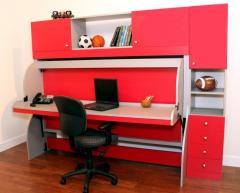 Revolutionary Bed And Desk System