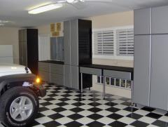 Custom Garage Shelving, Wall Cabinets, Storage