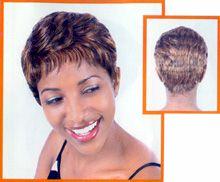 Short Stop Human Hair Wig