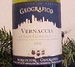 Wine 2010 Geografico Vernaccia di San Gimignano