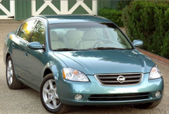 2002 Nissan Altima Car