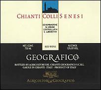 Wine 2010 Geografico Chianti Colli Senesi