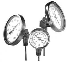 Reotemp Adjustable Angle Bimetal Thermometers