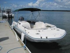2007 Hurricane FD GS232 Deck Boat