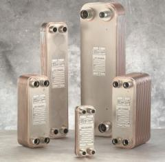 """70-plate Brazed Heat Exchanger (1"""" MNPT)"""