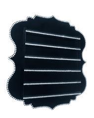 Lily - Black - Jewel Nail Polish Rack