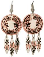 Wolf Earrings K-03