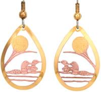 Loon Earrings TS19