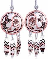 Cowboy Boots Earrings K-W4