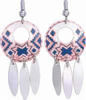 Dangle Handmade Earrings K-721bl