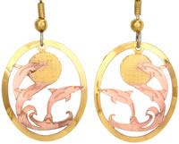 Dolphin Earrings TS75