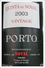 Wine Noval Vintage Porto