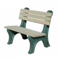 Park Classic 4' Backed Bench