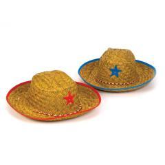 Child's Straw Cowboy Hat