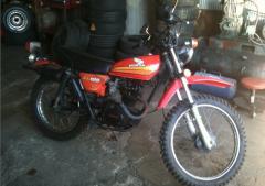"1978 Honda Xl 125 Trail Bike ""Street"