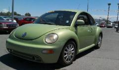 00 Volkswagen Beetle Car