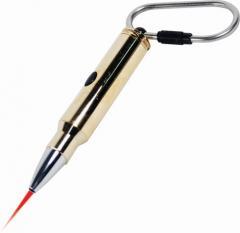 Alpec Bullet Red Laser Keychain Pointer