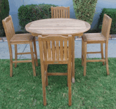 Deluxe Bar Table Set