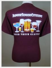 Junior Senior Citizens Need Their Glasses T-Shirts