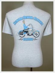 T-Shirts - Men Junior Senior Citizen Classic Motorcycle