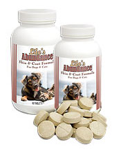 Skin & Coat Supplement 60 chewable tablets