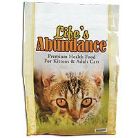 Life's Abundance Premium Health Food For Cats: 6.6 lb. bag
