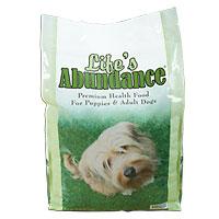 Life's Abundance Premium Health Food for Puppies & Adult Dogs: 8 lb. Bag