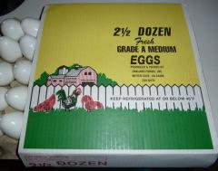 120 Mis print 2 1/2 Doz. Egg Sleeves