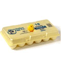 18ct. Foam Misprint Egg Box