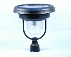 Tahoe Post Mount - Solar Lamp