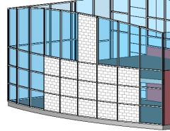 API's Curtain Wall