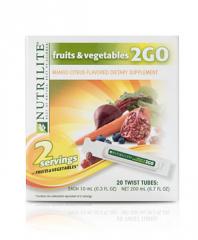 NUTRILITE® Fruits & Vegetables 2GO Twist Tubes