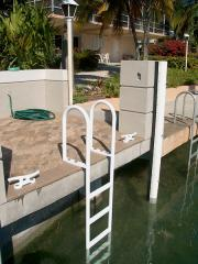 Fixed Aluminum Dock Ladders